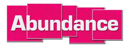 Abundance Pink Texture Blocks