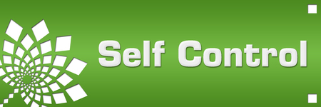 Self Control Green Floral Left