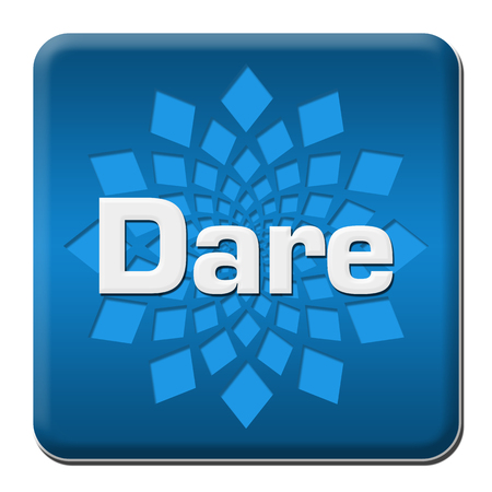 Dare Blue Rounded Square With Element