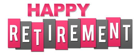 Happy Retirement Professional Pink Grey