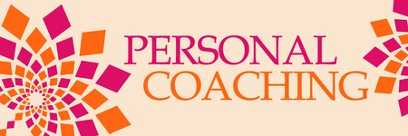 Personal Coaching Pink Orange Floral Horizontal