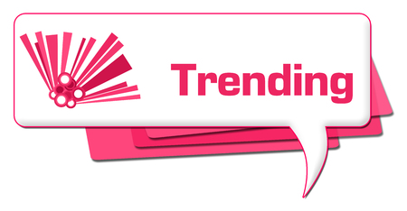Trending Pink Graphic Comment Symbol
