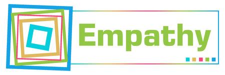 Empathy Colorful Borders Square Horizontal
