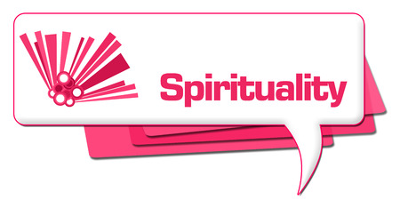 Spirituality Pink Graphic Comment Symbol