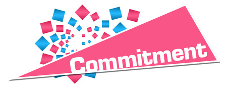 Commitment Pink Orange Circular Triangle