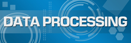 Data Processing Business Style Technology Banner
