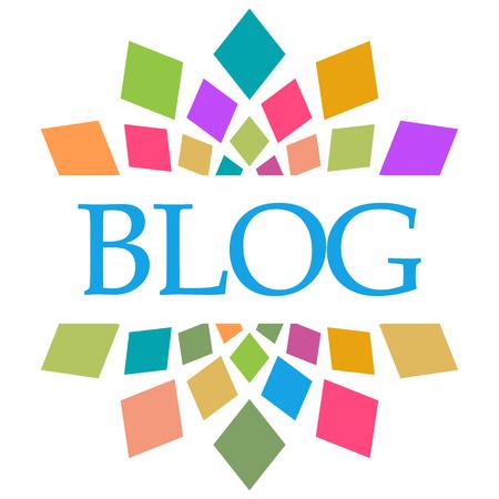 Blog Colorful Shapes Circular