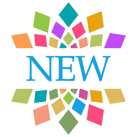New Colorful Shapes Circular