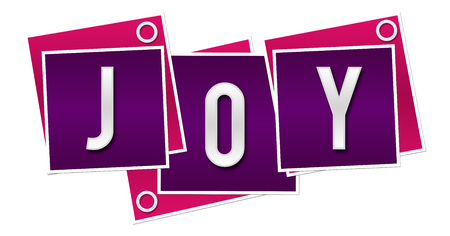 Joy Purple Pink Blocks Rings