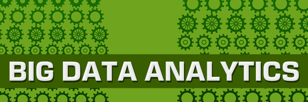 Big Data Analytics Green Gears Horizontal