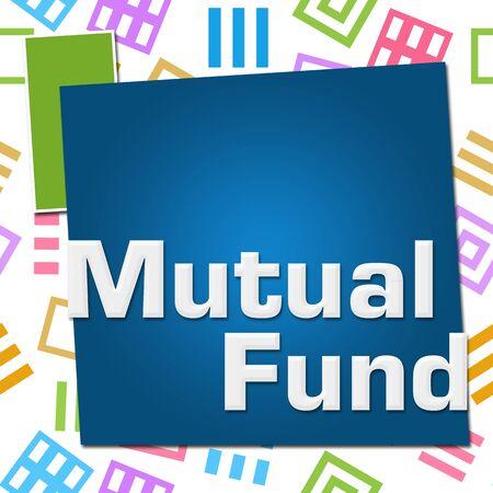 Mutual Fund Colorful Basic Symbol Squares