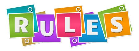 Rules Colorful Squares Rings