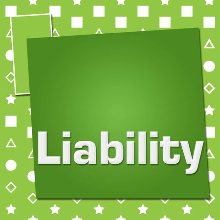 Liability Green Basic Symbol Squares