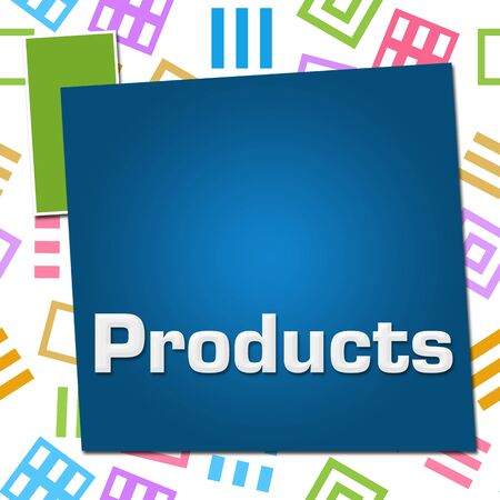 Products Colorful Basic Symbol Squares