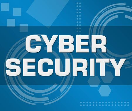 Cyber Security Technology Background Square