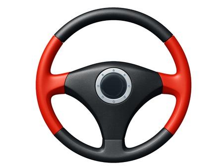 Kierownica samochodu Zdjęcie Seryjne