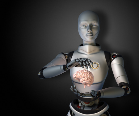 artifical: Artifical intelligence Stock Photo