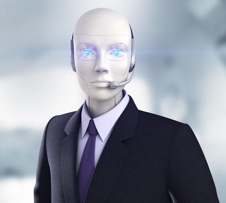 Cyber ??opérateur Banque d'images