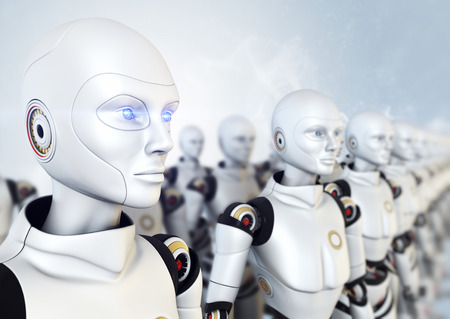 artificial intelligence: Army of robots