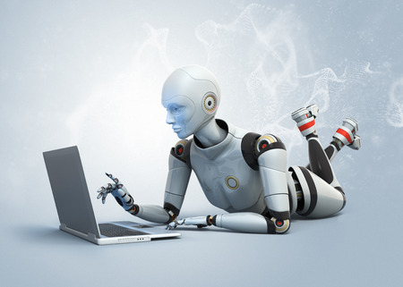 robot: Android y portátiles