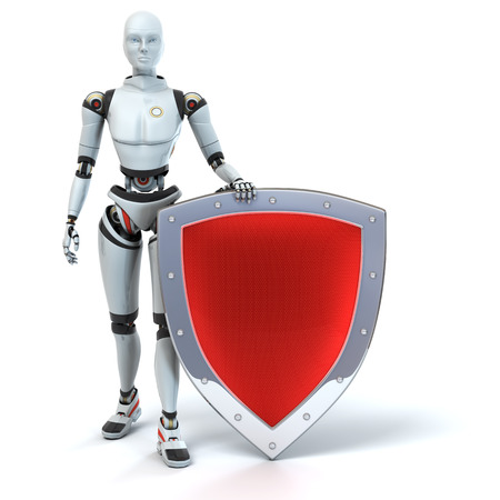 defender: Defender. Android with a shield
