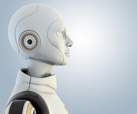 Robot Stockfoto