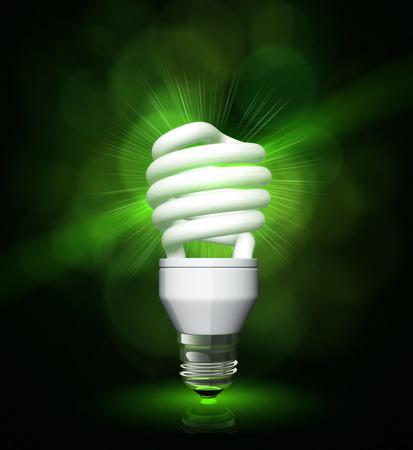 Compact energy saving lamp