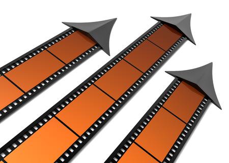rating: Movies rating Stock Photo