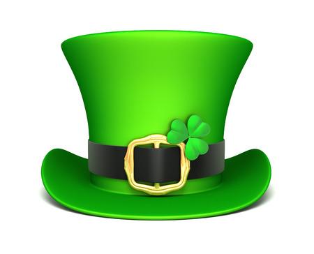 leprechaun background: St. Patrick\\