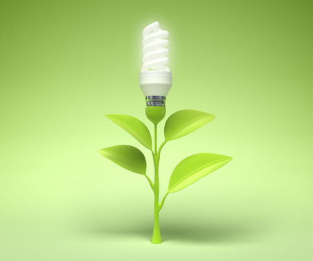 Symbol of the Green technology photo