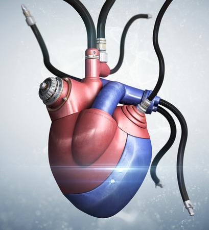 Mechanical heart concept.