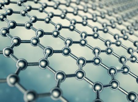 molecular structure: Graphene molecular structure