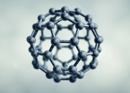 molecular structure: Molecular structure in form of hexagon