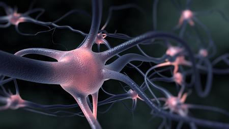 In de hersenen Stockfoto