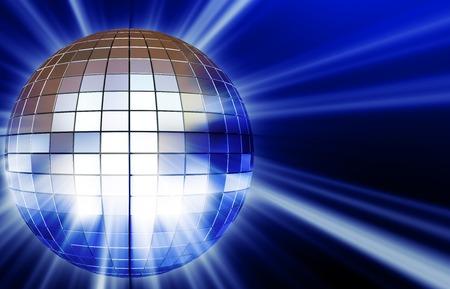disco mirrorball: Shining disco mirrorball