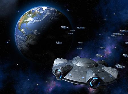 Invasion of UFOs