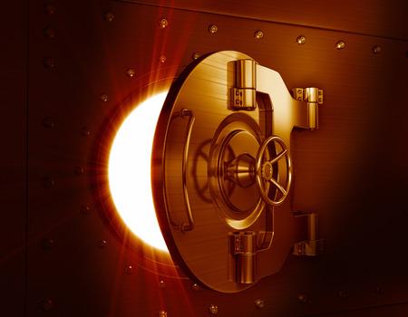 vaulted door: Bank vault door