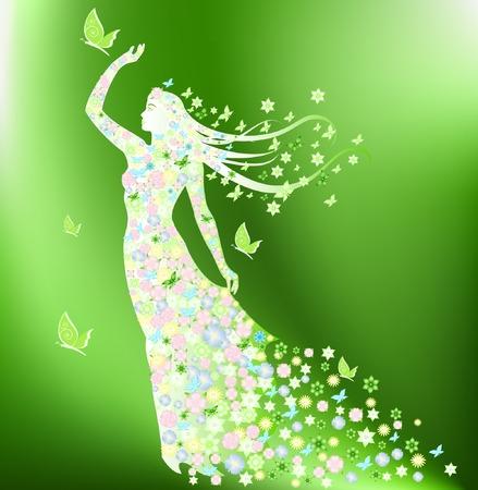 siluette: Lady Spring