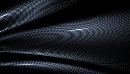 texture backgrounds: Carbone fiber background. 3D illustration Stock Photo