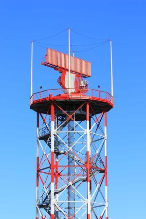 airport radar in air traffic control operation photo