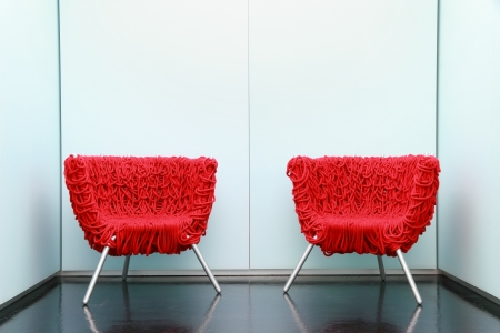 Moderm inter of a waiting room Stock Photo - 10997317