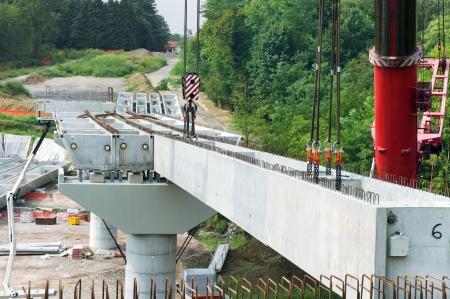 site of under construction Bridge photo