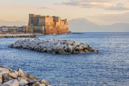 castel: Castel dell ovo in Naples, Italy
