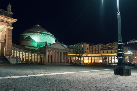 di: San Francesco di Paola, Piazza del Plebiscito, Naples, Italy.