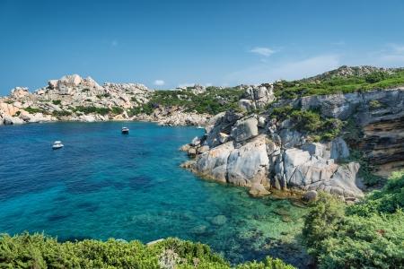 capo: Sardinia: a bay in Capo Testa, near the village of Santa Teresa di Gallura, Italy
