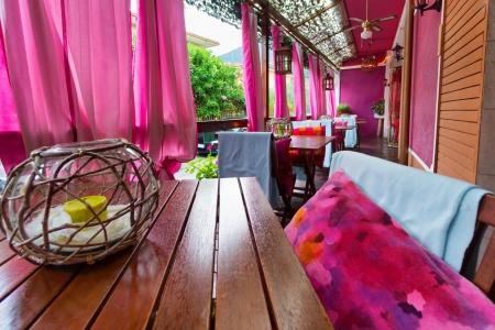 Restaurante Lounge De Moda Terraza Del Café