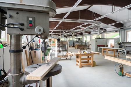 joinery: falegnameria o carpenteria officine Archivio Fotografico