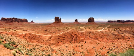 monument valley panoramic view, USA Reklamní fotografie