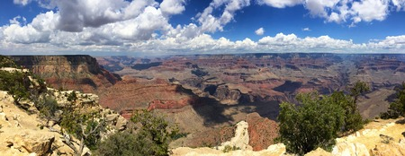 Grand Canyon panoramic view, USA Stock Photo