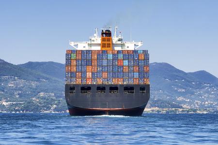 navio de recipiente grande carga